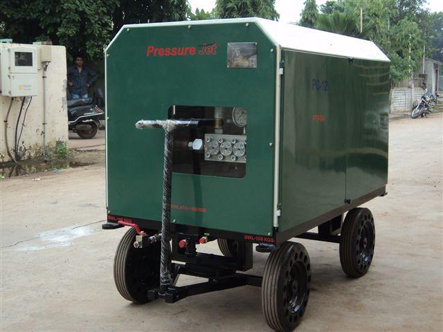 Diesel Engine Driven Hydro Test Pumps - PressureJet