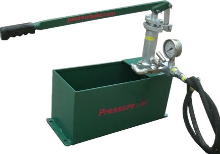 Hand Operated Pressure Test Pump