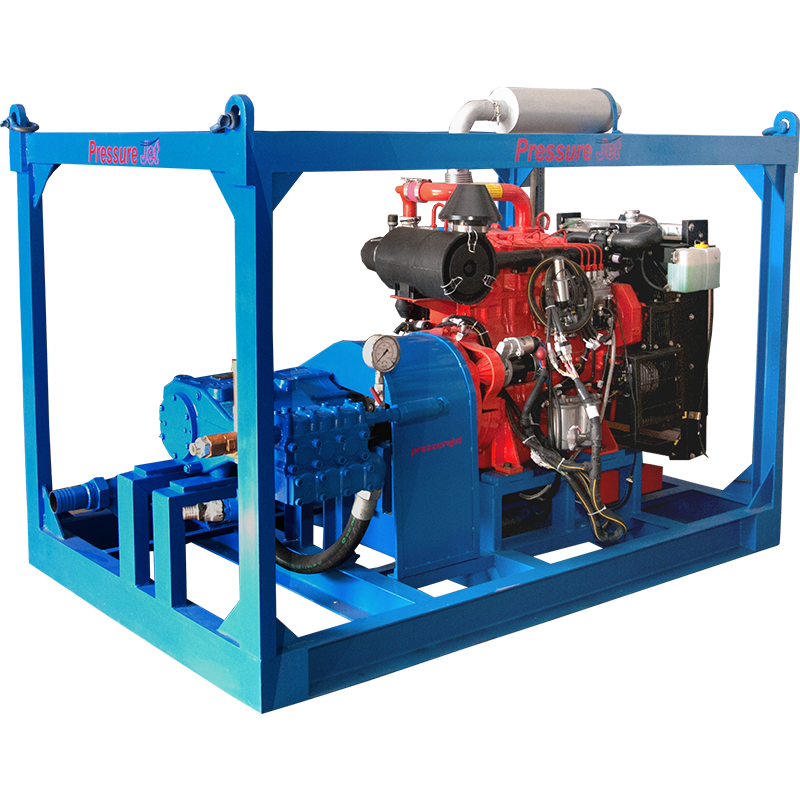 Hydro Jetting Machine | Diesel Engine