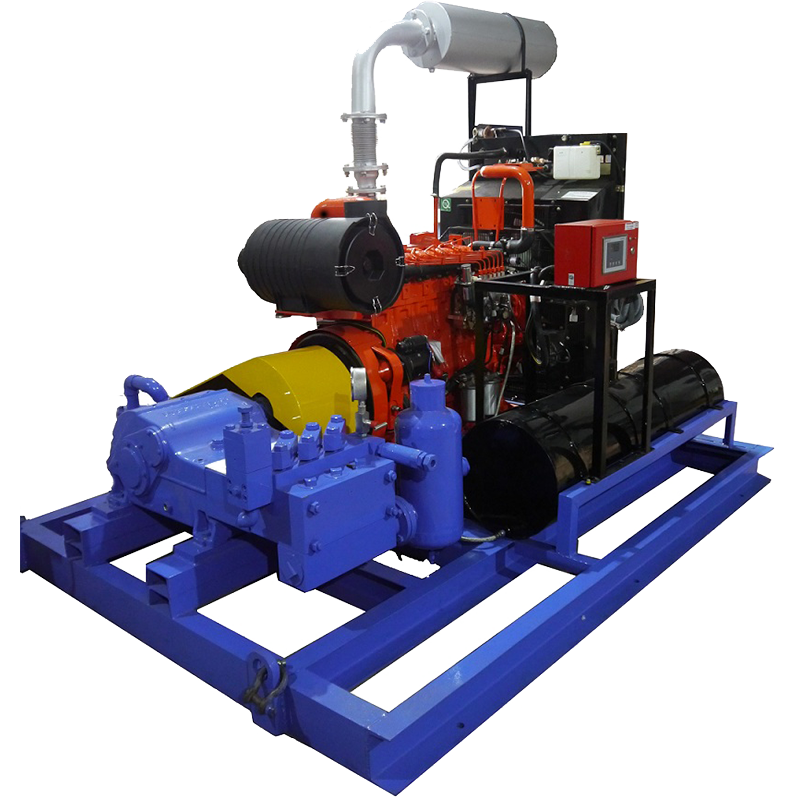 Hydro Jetting Machine | Skid Mounted