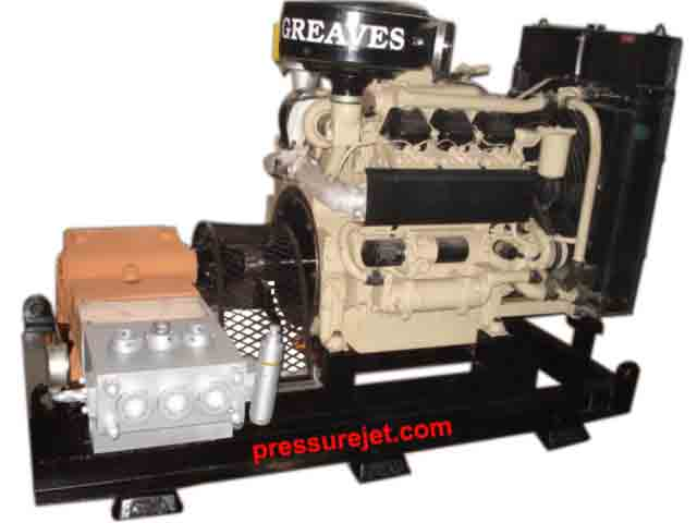 Diesel Engine Driven High Pressure Hydro Testing Pump
