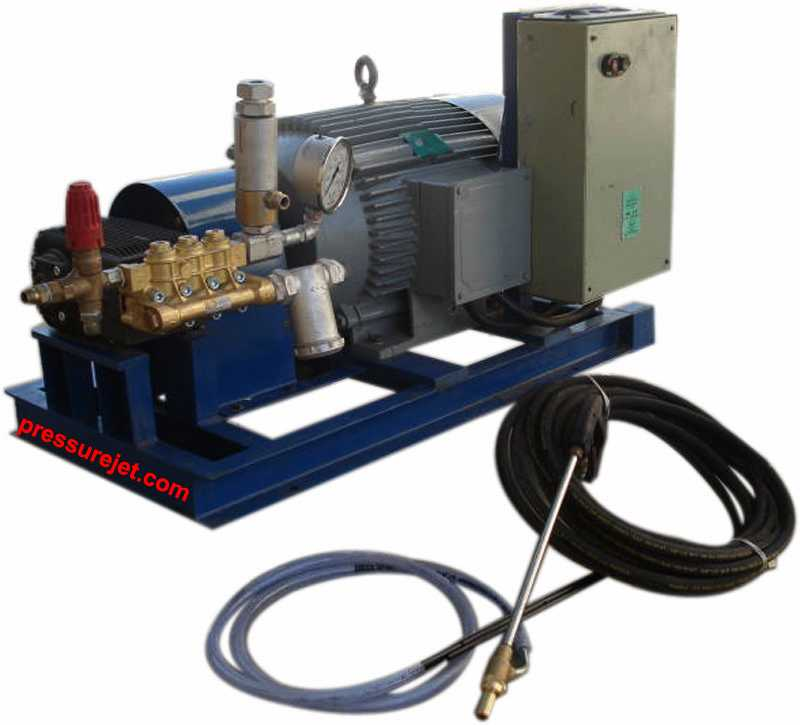 Skid Mounted High Pressure Water Jet System
