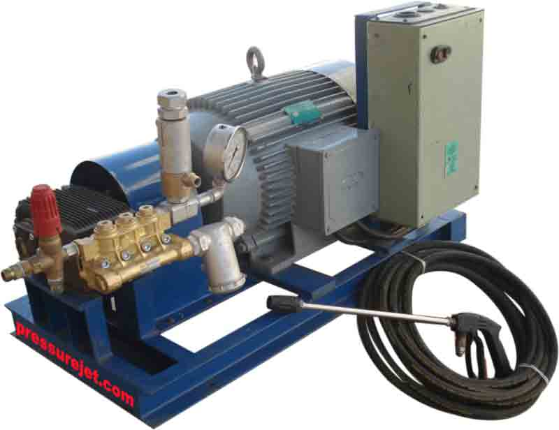 High Pressure Water Blasting Equipments Hydro Blasting