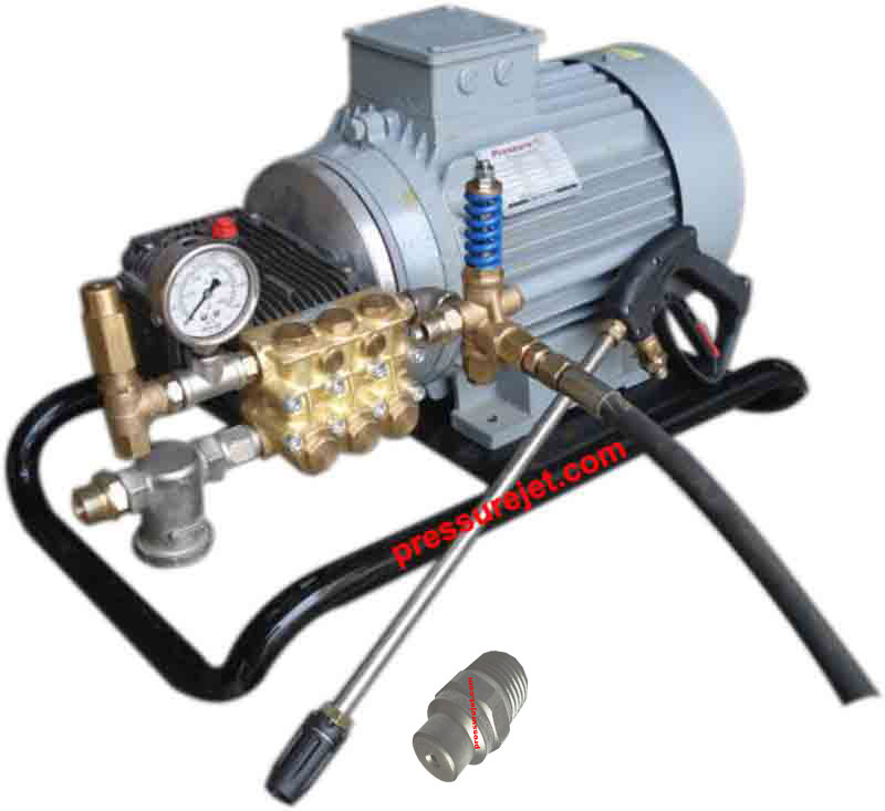 High Pressure washer system