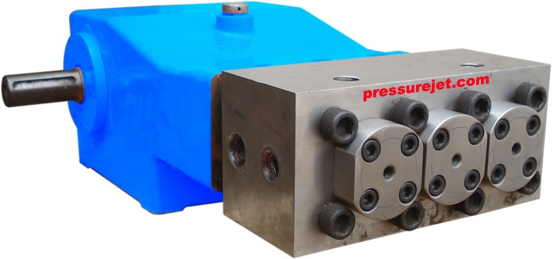 Reciprocating piston pumps