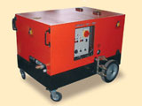 Hot water pressure power cleaners