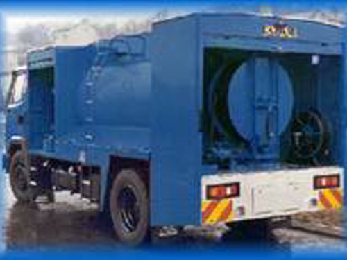 Water Jetting Sewer Cleaning Jetter Machine Sewer