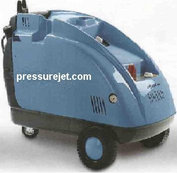 Electric hot water pressure washer
