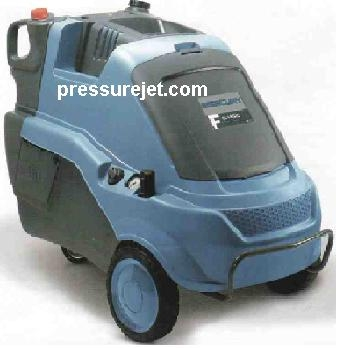 Hot pressure cleaners