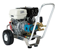 Power washing equipment