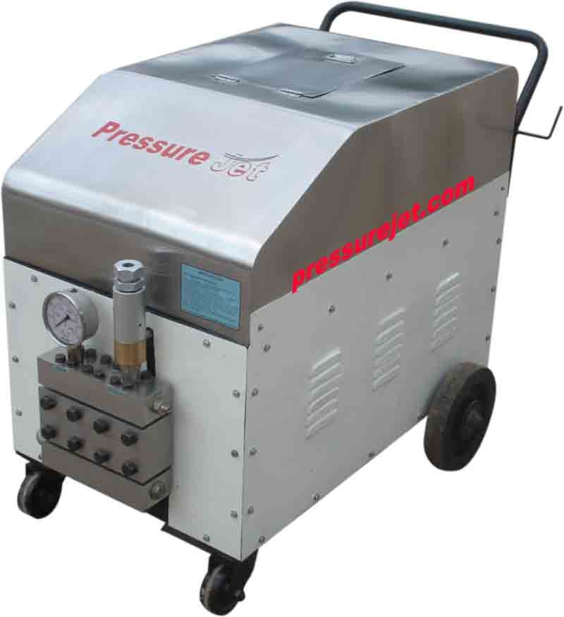 Hydrostatic pressure test units