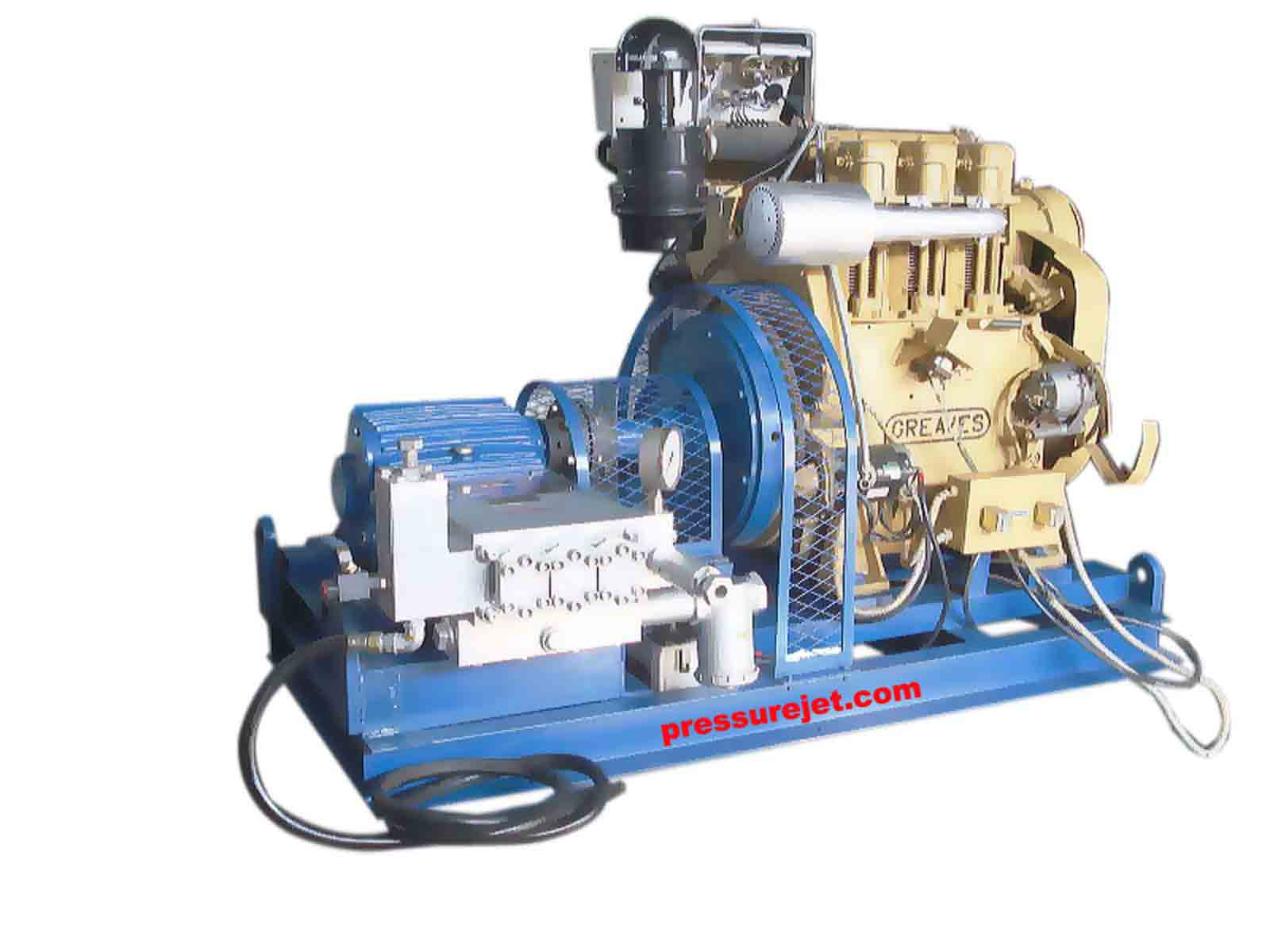 Hydrostatic Test Pumps, Hydrostatic Hydrotest System - PressureJet