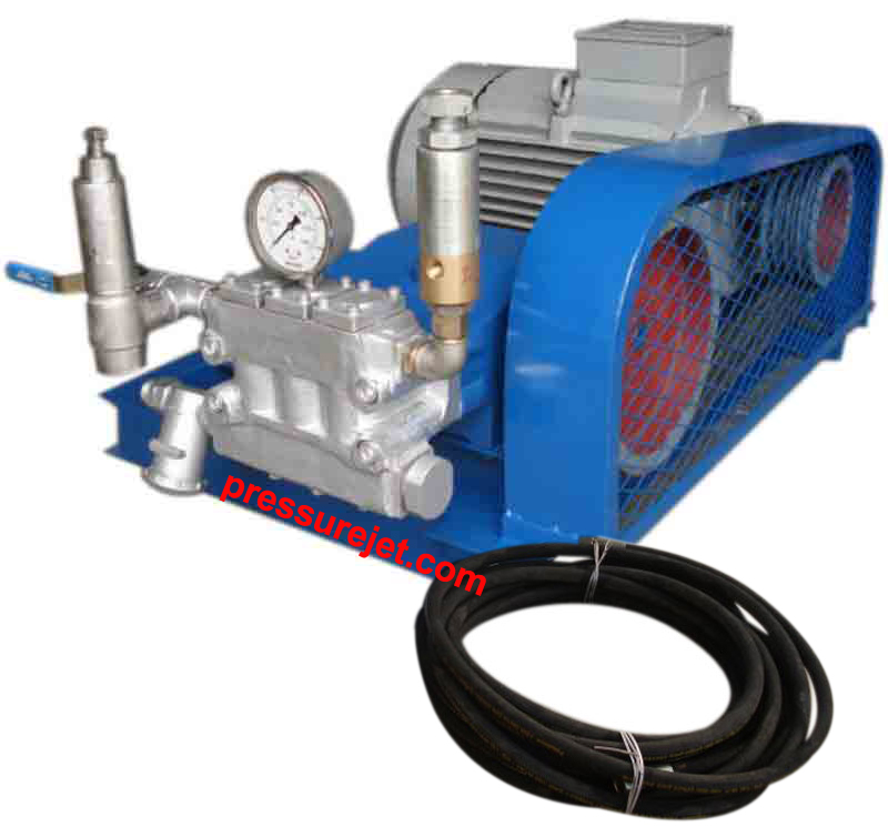 Hydrostatic pressure test pump