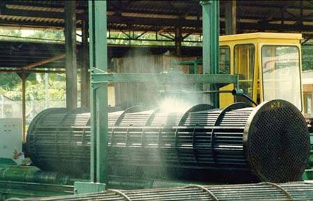 Heat exchanger tube pipe cleaning