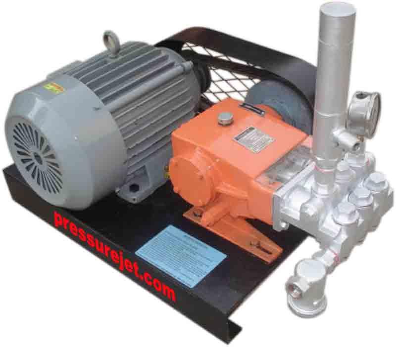 High Pressure Hydrostatic Pressure Test Unit, Hydro Test Pump