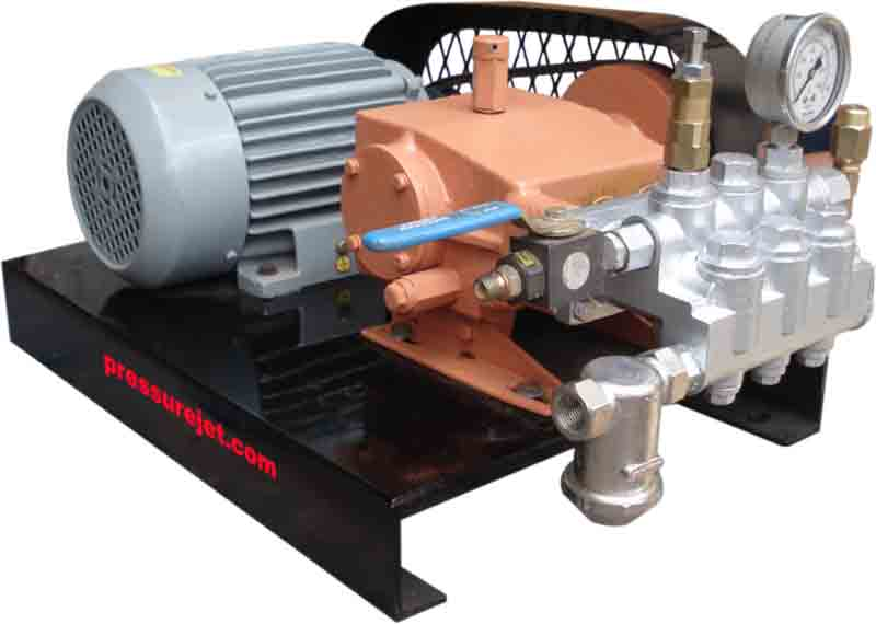 Motorized Hydraulic Test Pump