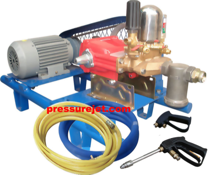 Car pressure washer equipments