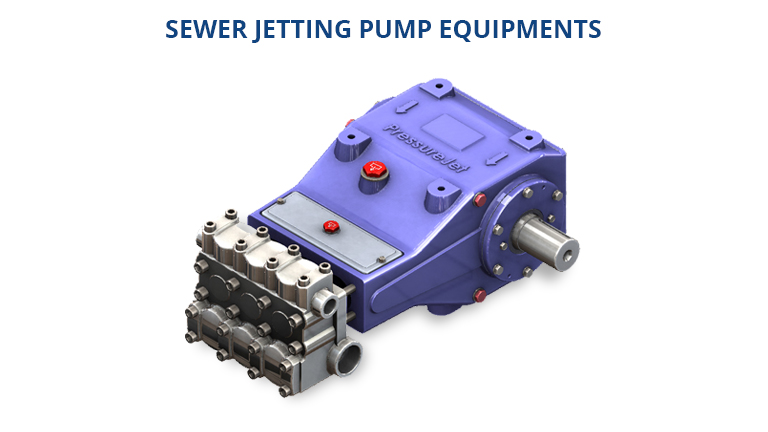SEWER JETTING PUMP EQUIPMENTS